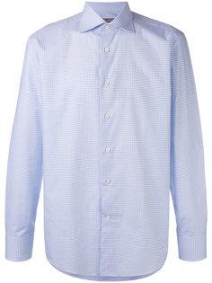 рубашка в клетку с длинными рукавами Canali
