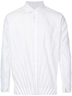 плиссированная рубашка Homme Plissé Issey Miyake