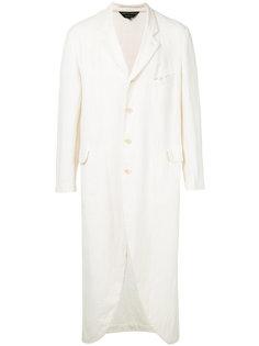 длинное фактурное пальто Comme Des Garçons Vintage