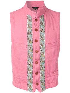 декорированная куртка без рукавов  Comme Des Garçons Vintage