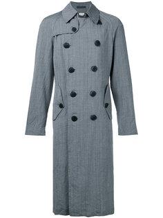 двубортное пальто Comme Des Garçons Vintage