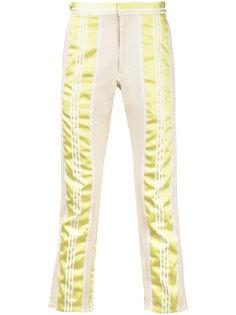 брюки в полоску Comme Des Garçons Vintage
