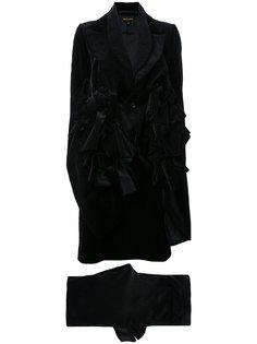 бархатный брючный костюм  Comme Des Garçons Vintage