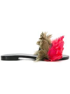 slip-on flat sandals Avec Modération