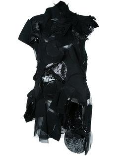 patchwork applique dress Junya Watanabe Comme Des Garçons Vintage