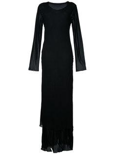 прозрачное двухслойное платье  Comme Des Garçons Vintage