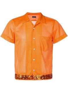 рубашка с пайетками Comme Des Garçons Vintage