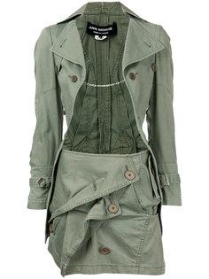 юбочный комплект в стиле милитари Junya Watanabe Comme Des Garçons Vintage