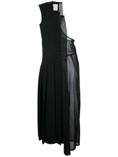 платье на одно плечо с геометрической панелью Comme Des Garçons Vintage