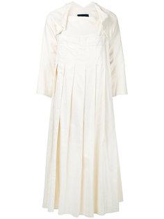 плиссированное платье и пиджак Comme Des Garçons Vintage