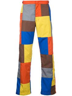 брюки в стиле пэчворк  Comme Des Garçons Vintage
