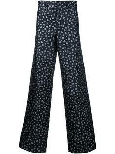 широкие брюки в горох Comme Des Garçons Vintage