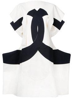 платье с резным узором Calico Comme Des Garçons Vintage