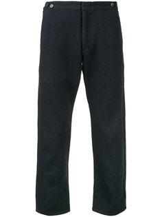 укороченные брюки с узором-елочкой Comme Des Garçons Vintage