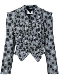 пиджак с узором в горох Comme Des Garçons Vintage