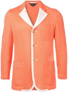 фактурный пиджак  Comme Des Garçons Vintage