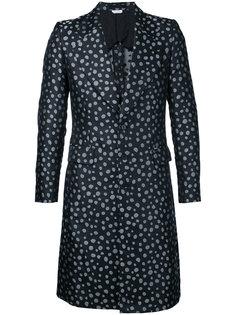 пальто с узором в горох Comme Des Garçons Vintage