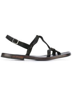 сандалии с ремешком вокруг пятки Dimissianos & Miller