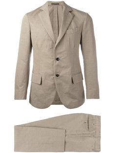 однобортный костюм Unconstructed Mp  Massimo Piombo