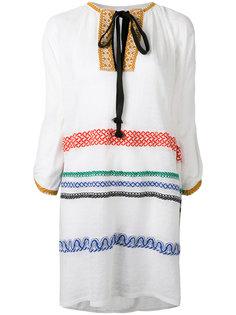 платье с вышивкой Sonia Rykiel