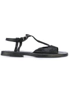 сандалии с Т-образной планкой и ремешком Dimissianos & Miller