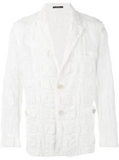 textured blazer Issey Miyake
