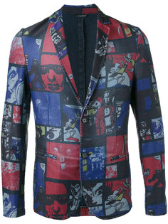 comic strip jacket Daniele Alessandrini