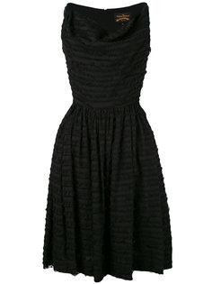 платье с расклешенной юбкой и бахромой Vivienne Westwood Anglomania