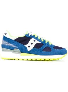 кроссовки со шнуровкой и панельным дизайном Saucony
