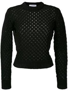 свитер ажурной вязки Carven
