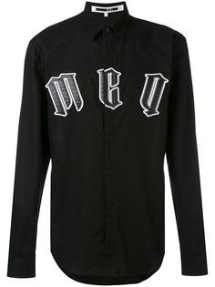 рубашка с аппликацией логотипа McQ Alexander McQueen