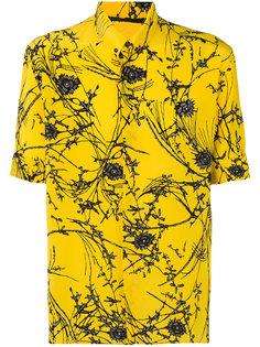 рубашка с цветочным принтом Haider Ackermann