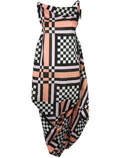 платье с клетчатым рисунком Vivienne Westwood Anglomania