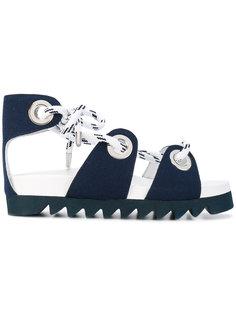 сандалии со шнуровкой на рифленой подошве Joshua Sanders