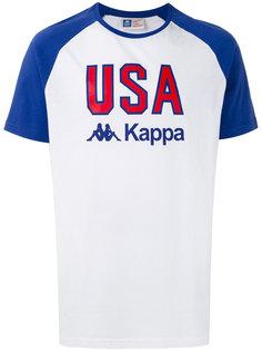 футболка с принтом USA Kappa