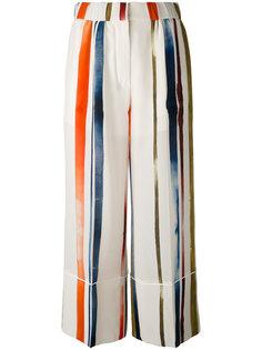 брюки с неровными полосами Sonia Rykiel