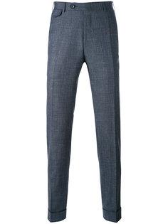 костюмные брюки с плетеным эффектом Canali