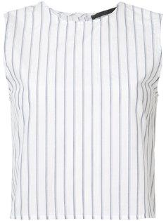 back buttoned striped blouse Jenni Kayne
