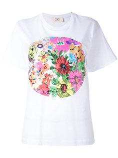 футболка с цветочным принтом Ports 1961