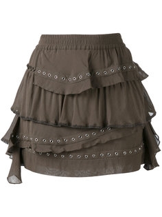 мини юбка с оборками Iro