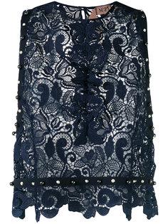 кружевная блузка с вышивкой Nº21