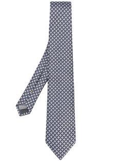 галстук с мелким принтом Canali