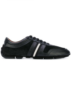 кроссовки с контрастными полосками сбоку Bally
