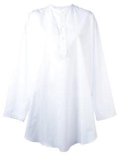 удлиненная рубашка хенли Alexander McQueen