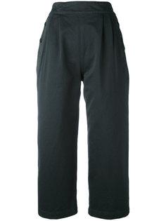 широкие укороченные брюки  Margaret Howell