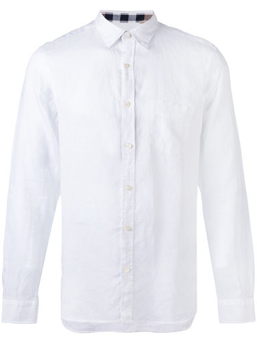 рубашка с нагрудным карманом Burberry