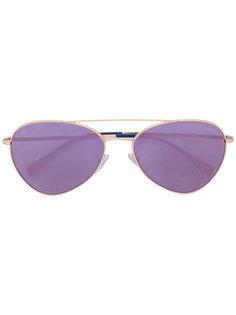 солнцезащитные очки-авиаторы Prada Eyewear