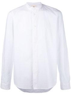 рубашка с узким воротником-стойкой Folk