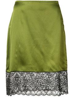 юбка с кружевным подолом Marquesalmeida