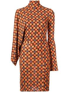 платье с геометрическим принтом Givenchy
